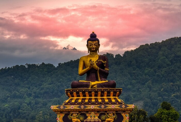 Buddha at Mt. Kanchenjunga