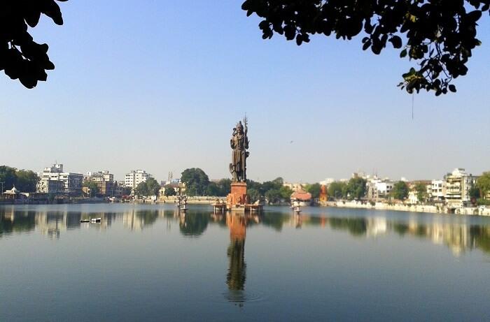 The Sursagar Lake