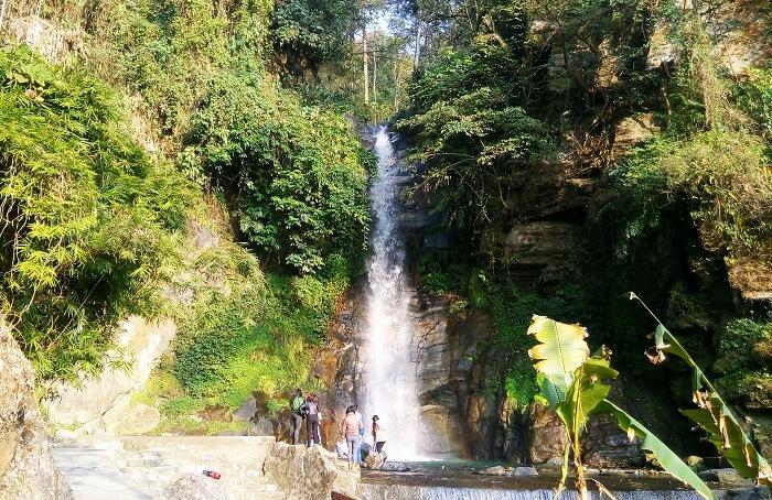 Bakthang Waterfall Sikkim