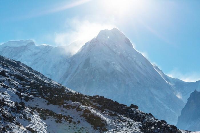 Mt. Kanchenjunga, Himalayas, Sikkim, India