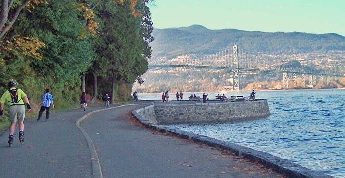 The Seawall Vancouver