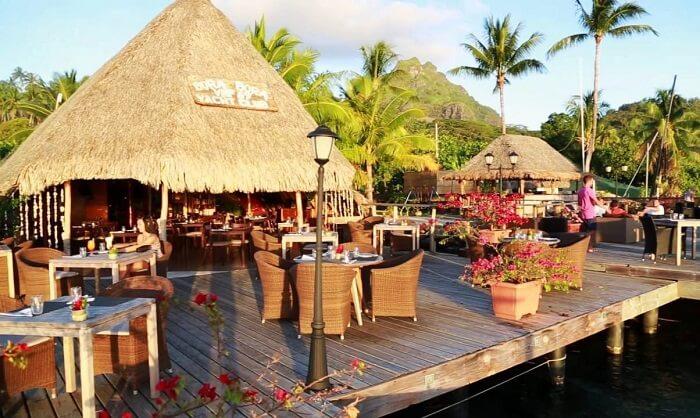 Bora Bora Yacht Club Restaurant
