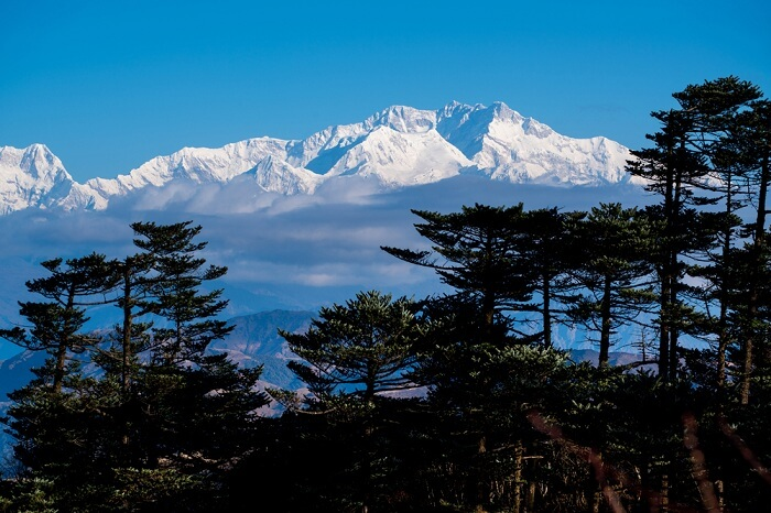 Mount Kanchenjunga, weather
