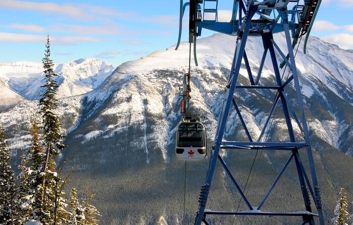 Gondola Ride to Sulphur Mountain