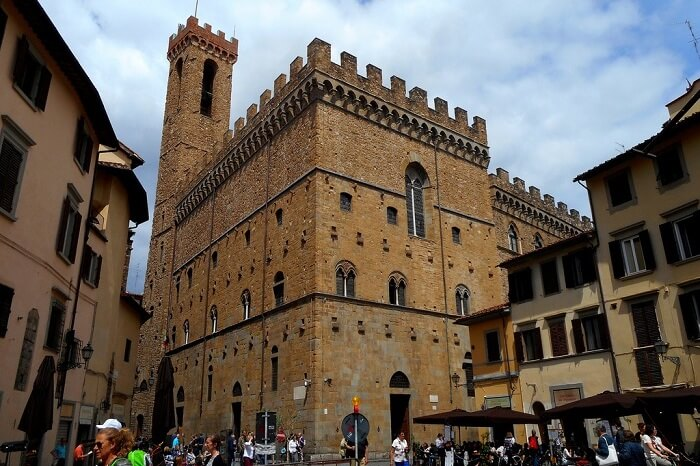 Outside view of Bargello Palace