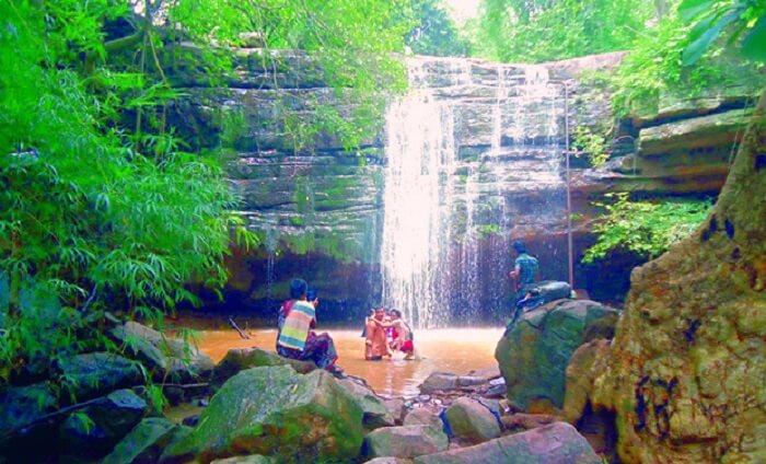 Bheemuni Padam Waterfalls