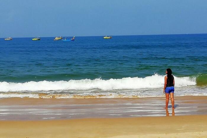 Nikhita trip to Goa