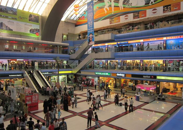 inside view of Crystal Mall Rajkot