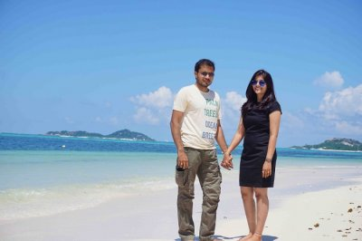 tushar seychelles honeymoon trip: cover image