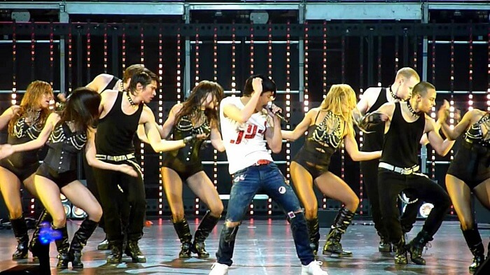 Dance at L.A.Live in los angeles
