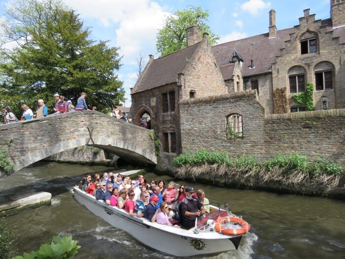 Go for a Canal Cruise in Bruges