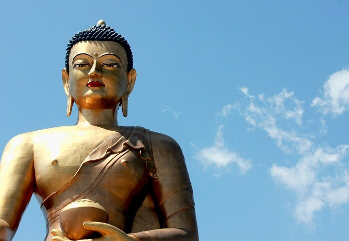 Graceful Buddha Statue Bhutan