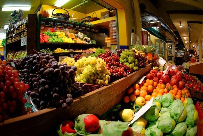 Head to the Original farmers market in los angeles