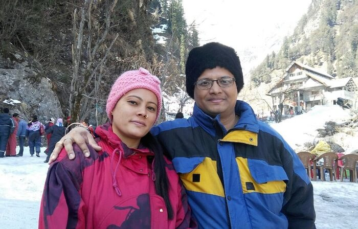 kuldeep manali honeymoon trip: at solang valley