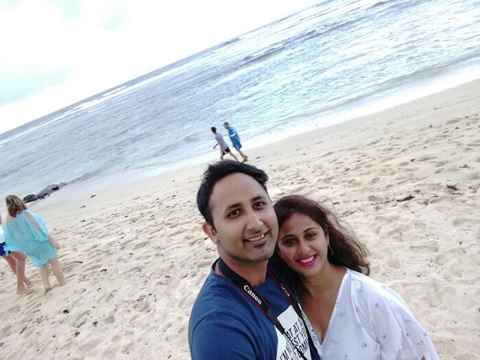 beach at radisson blu mauritius