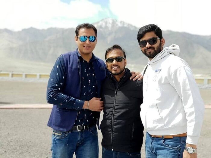 friends in leh ladakh