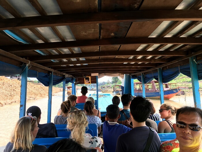 tour on a traditional boat