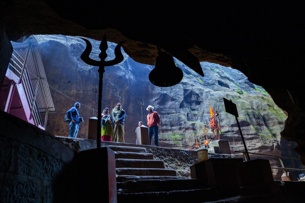 beautiful limestone cave