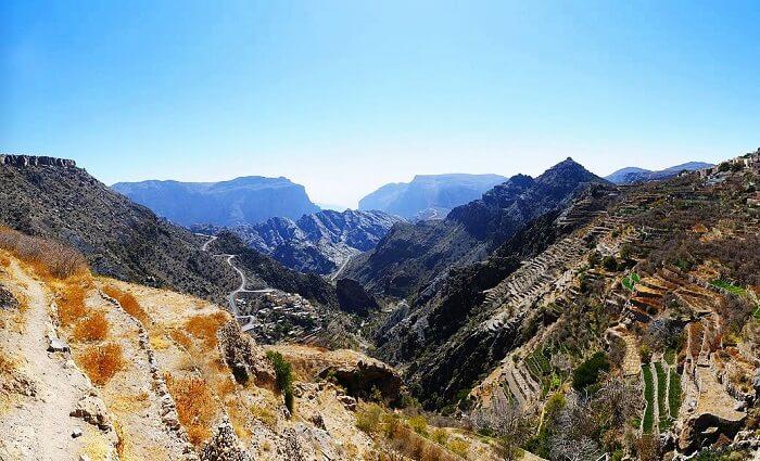 Peaks of Jebel Akhdar