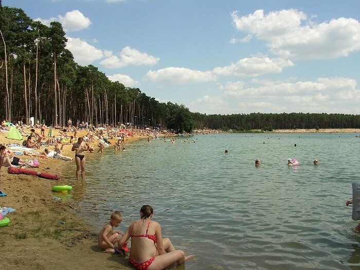 one of the best beaches near Prague