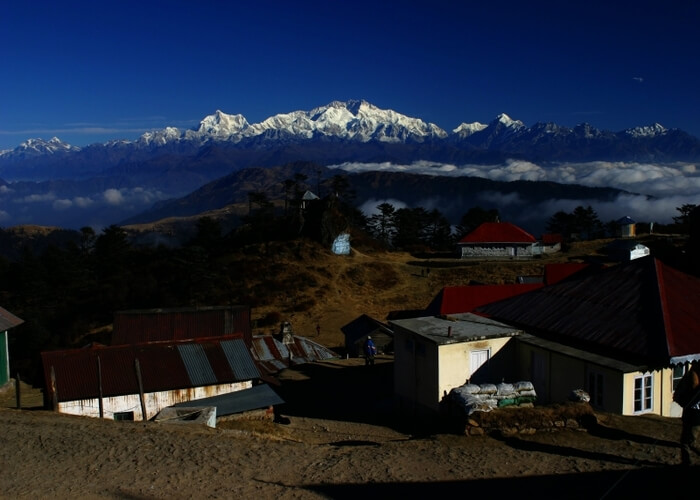Kanchendzonga from sandakaphu