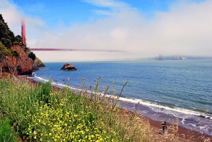 Kirby Cove Beach san francisco