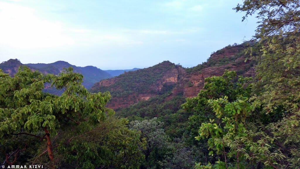 stunning view of surrounding valleys