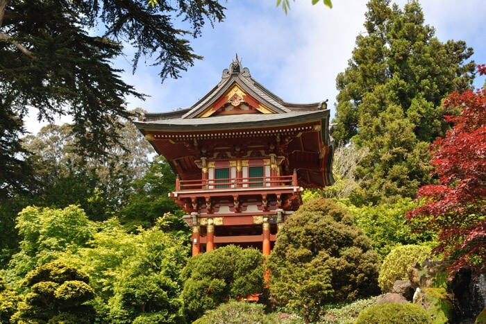Make a trip to the Oldest Japanese Tea Garden