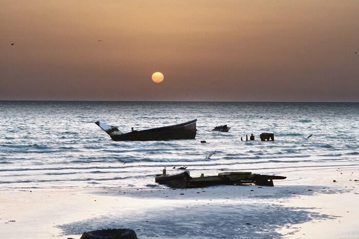 Sunset at Masirah Beach