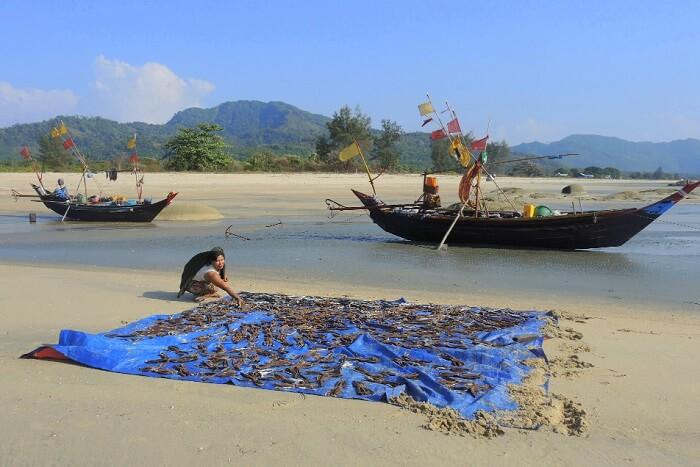 Maungmagan Beach myanmar