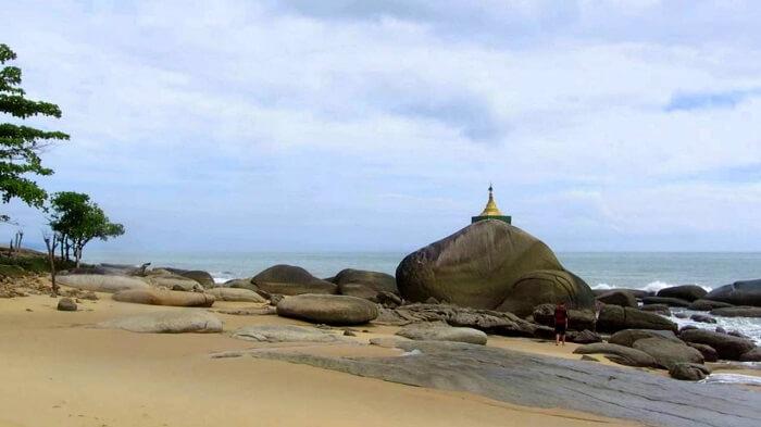Nabule beach myanmar