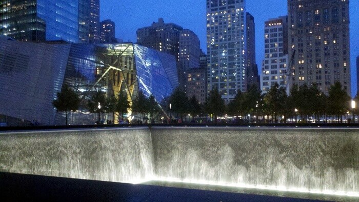 A somber reminder of the September 11th 2001 attacks