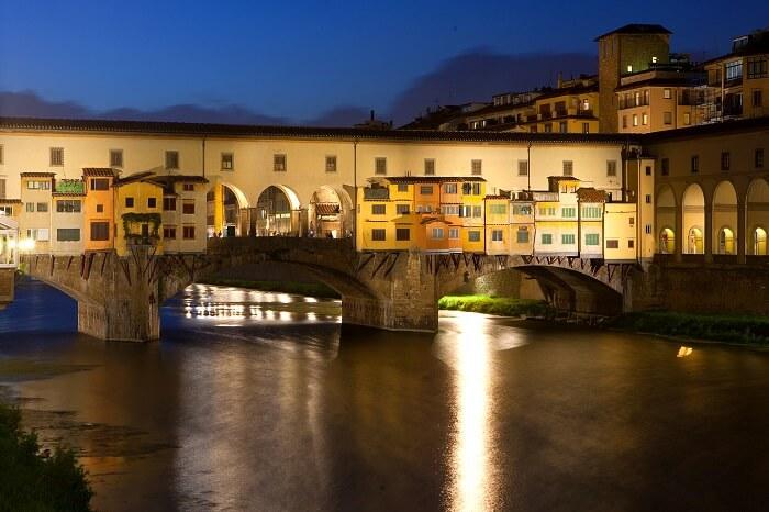 View of the Ponte Vecchio