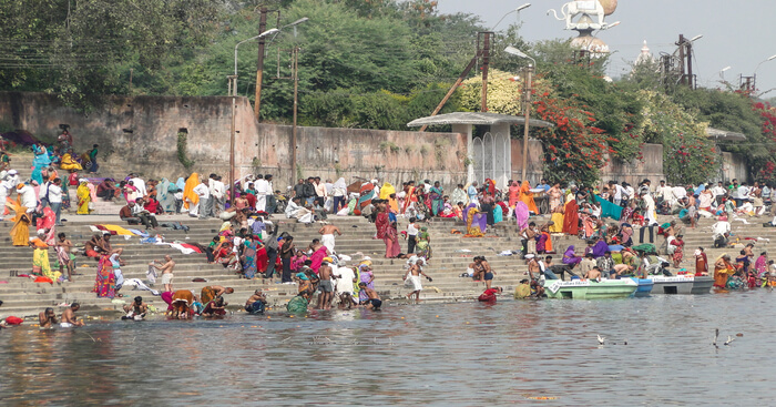 one of the sites of kumbh mela
