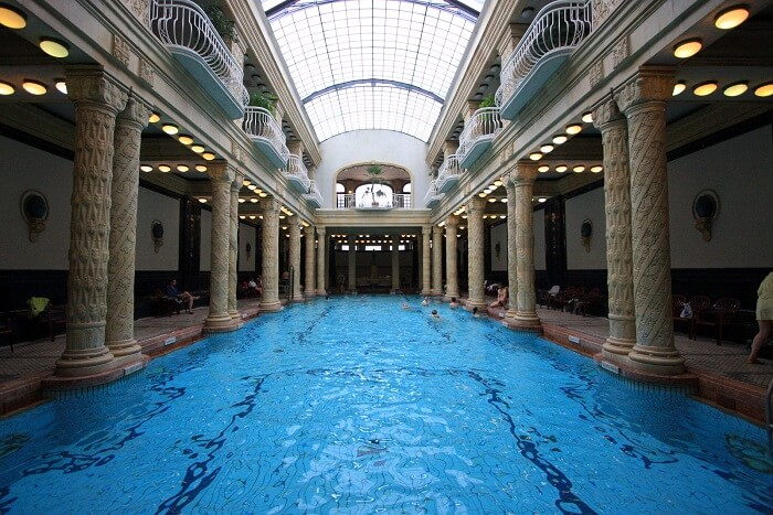 Rejuvenate at Gellert Bath and Spa in budapest Hungary
