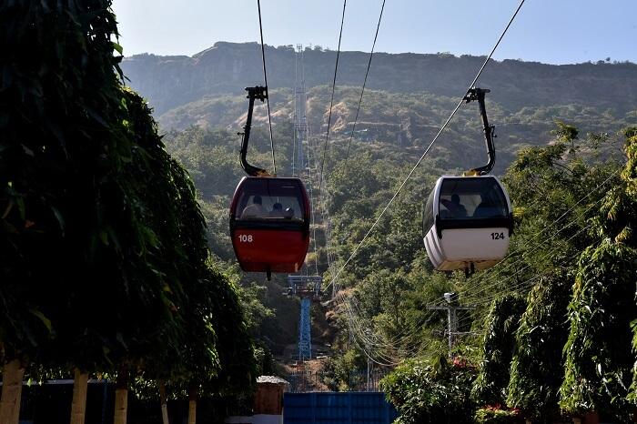 Ropeway ride to Pavagadh