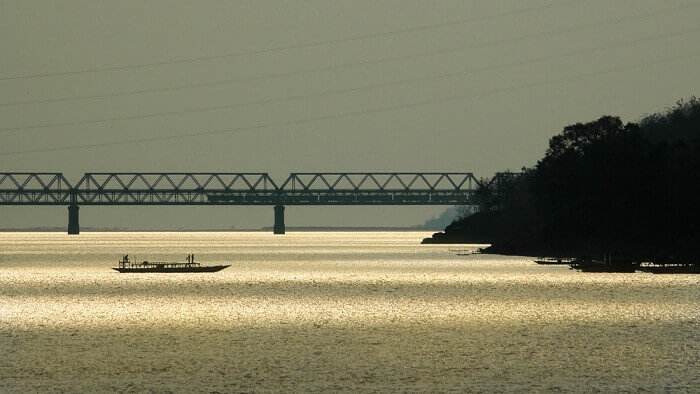 longest bridge above water in India