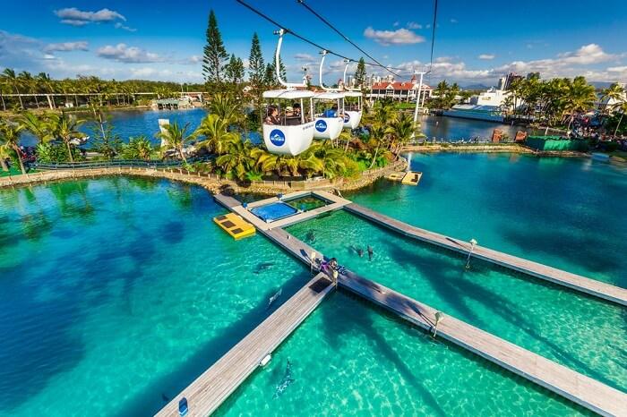 amazing marine themed park