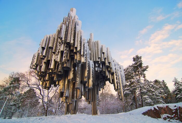 Sibelius Monument finland