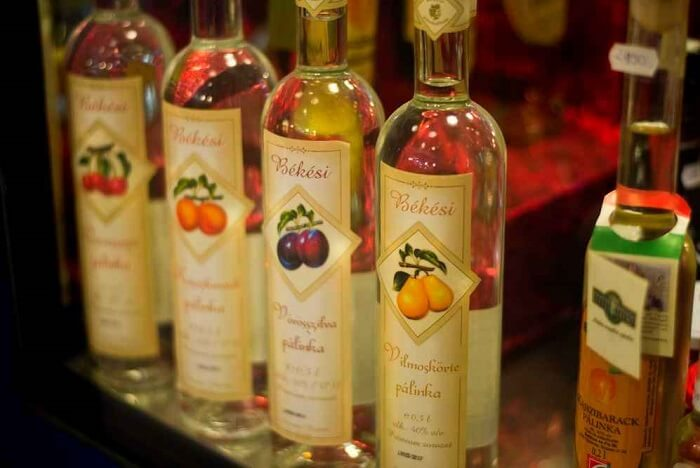 Try the famous Cherry Palinka in budapest Hungary