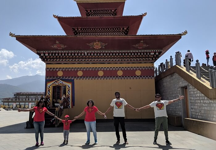 Friends trip to Bhutan