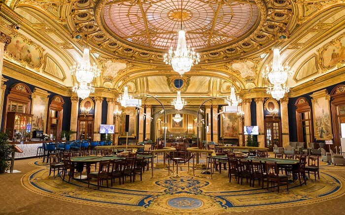 Casino de Monte-Carlo - Salle Europe