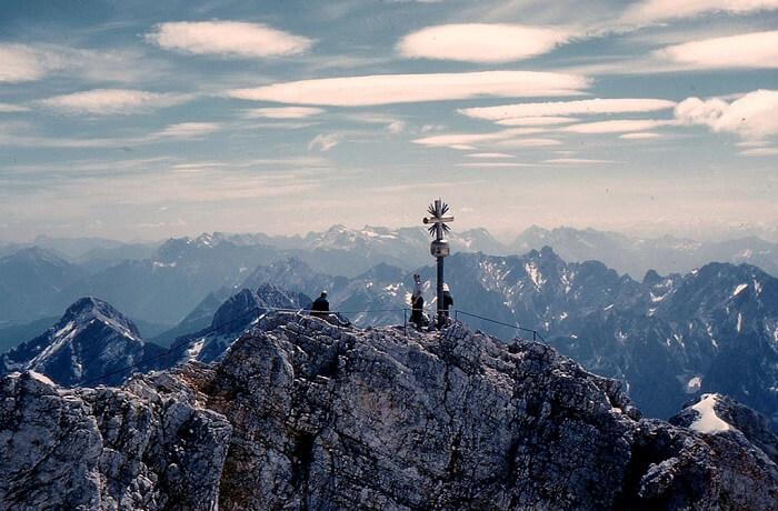 Zugspitze Massif germany