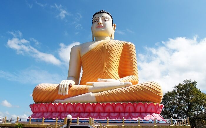 a giant statue of Buddha ss01052018