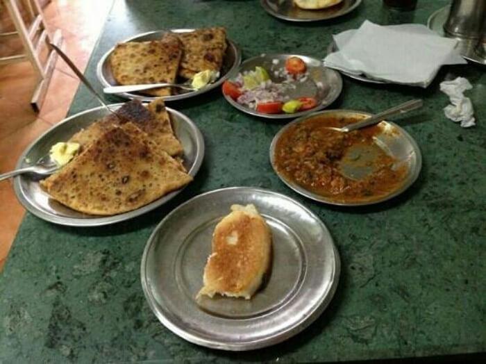 wide varieties of parathas