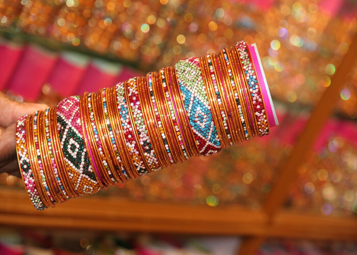 bangles at bangdi bazaar