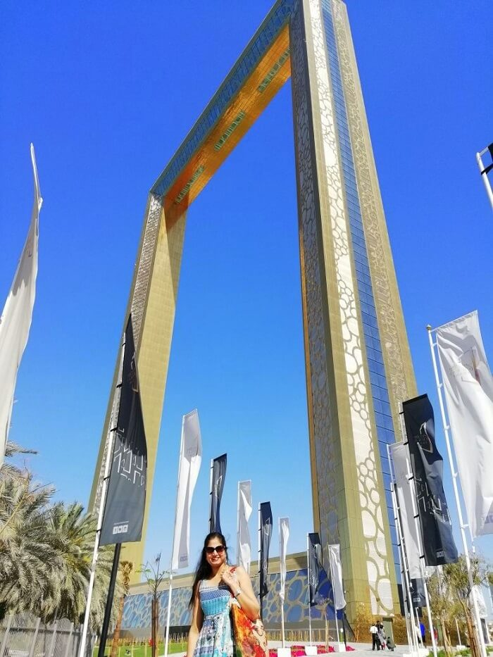 ashish singhal dubai honeymoon trip: dubai frame