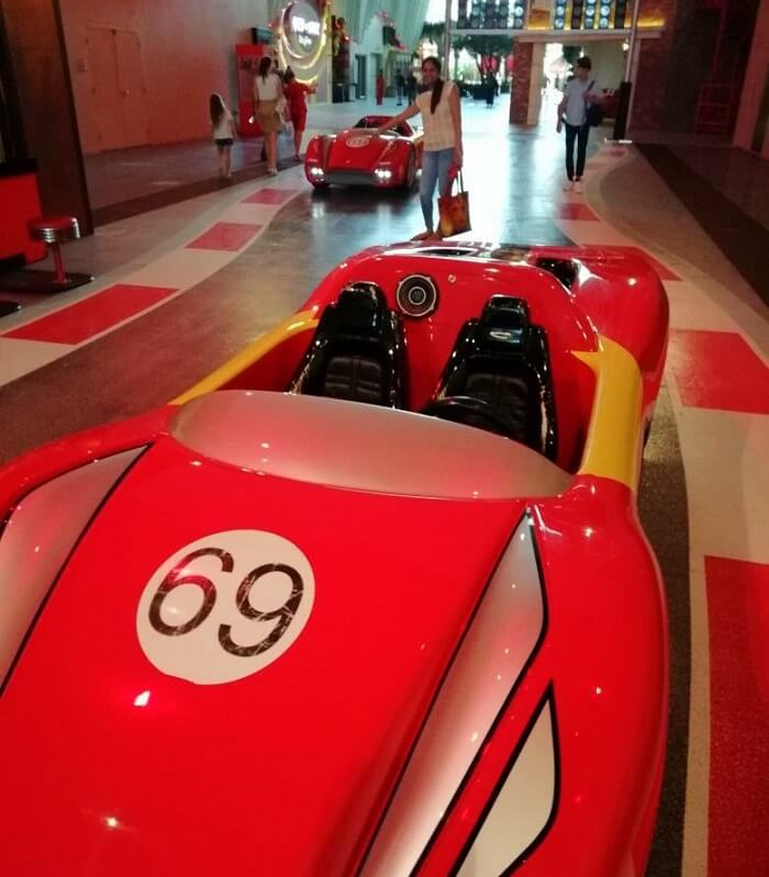 ashish singhal dubai honeymoon trip: ferrari at ferrari world