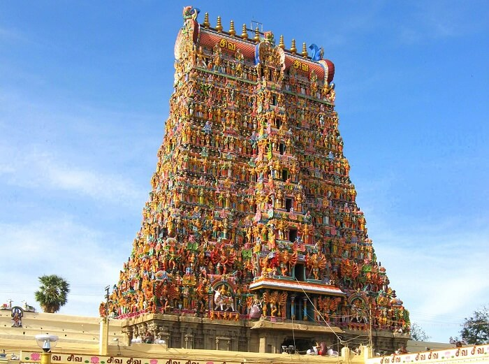 information about temple in madurai