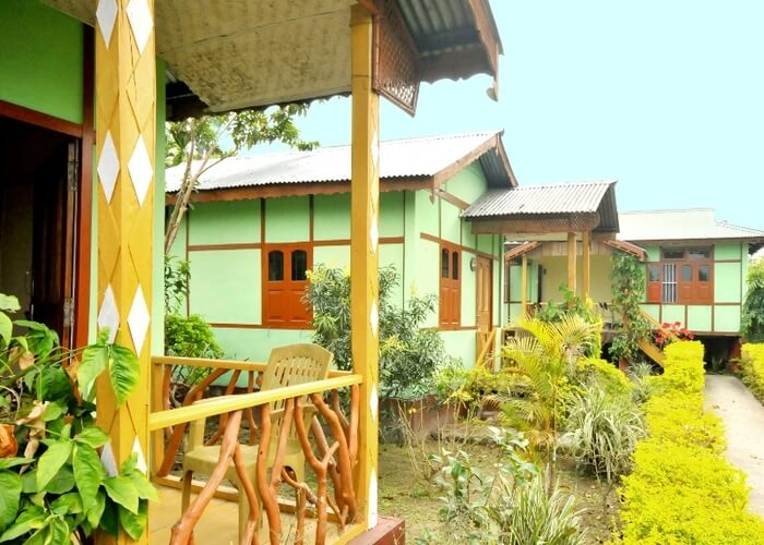 Assamese cottages run by NGO